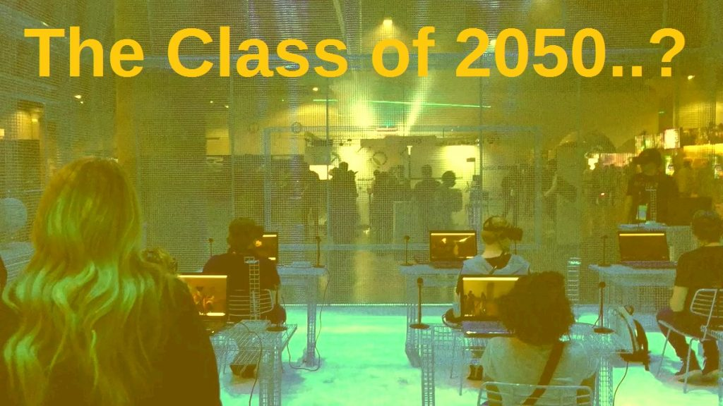 The Class of 2050..?